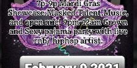 Mardi Gras Grown and Sexy Lounger tickets