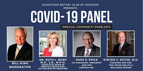 Downtown Rotary Presents a Special COVID-19 Panel & Luncheon tickets