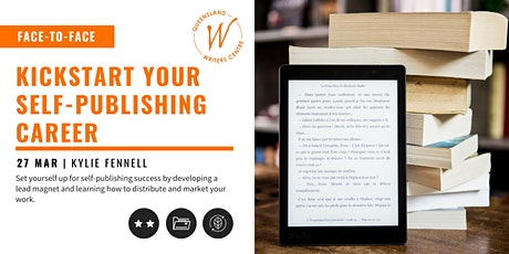 Kickstart Your Self-Publishing Career with Kylie Fennell tickets