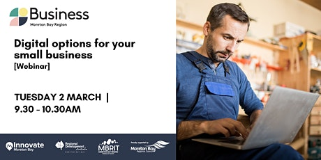 Digital options for your small business [webinar] tickets