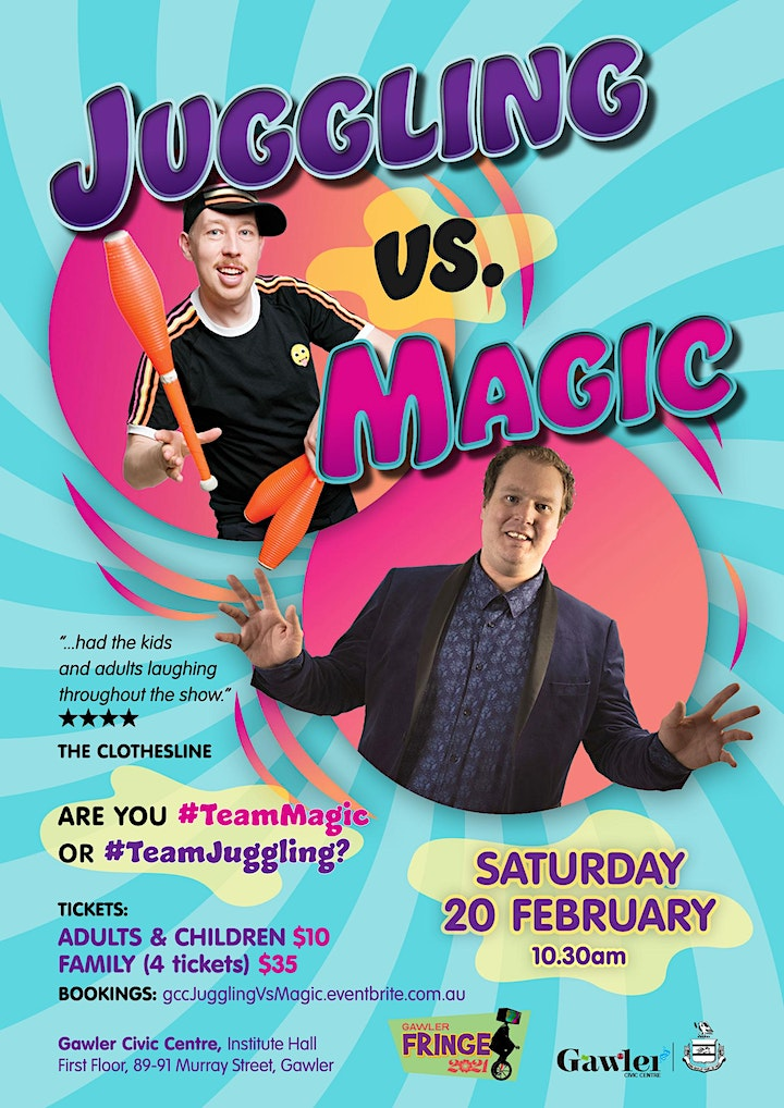 Juggling Vs Magic image