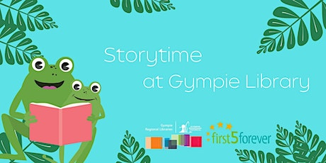 Storytime at Gympie Library - Temporarily moved to Memorial Park Bandstand tickets