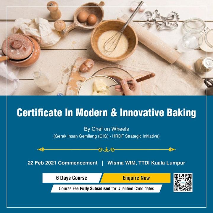 Certificate In Modern & Innovative Baking image