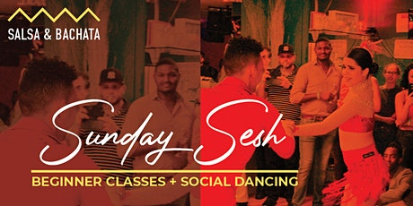 Bachata and Salsa Classes  + Social Dancing tickets