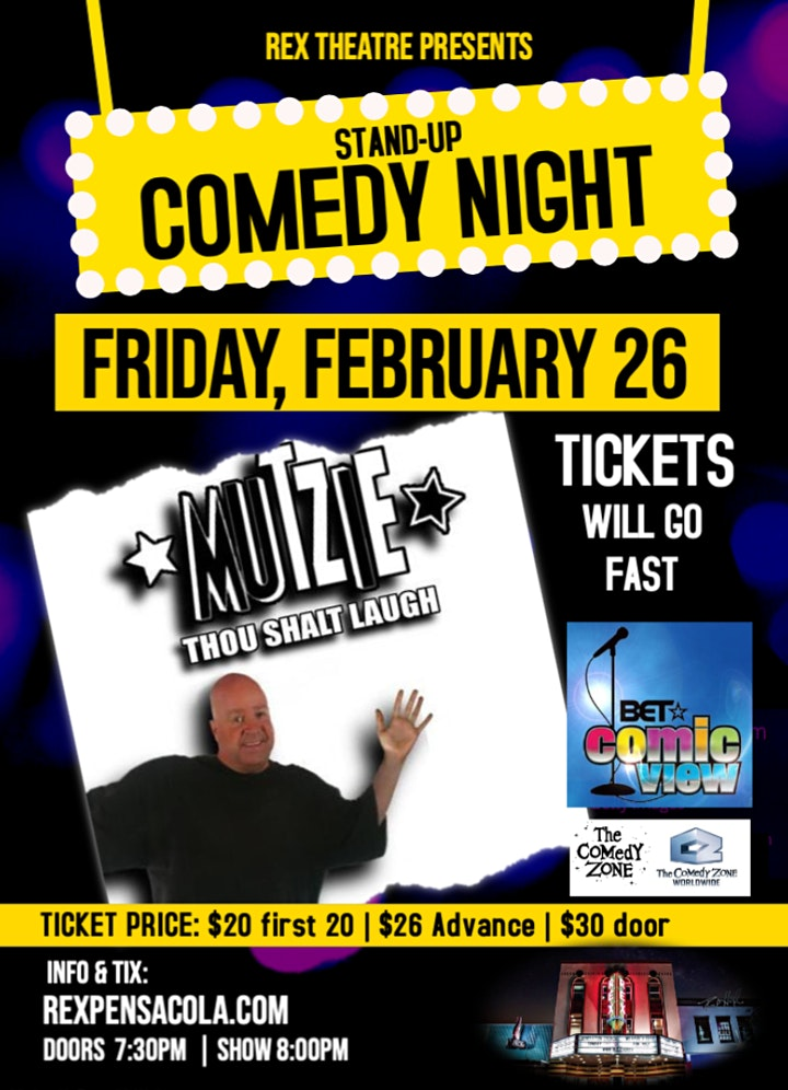 STAND-UP COMEDY | PENSACOLA image