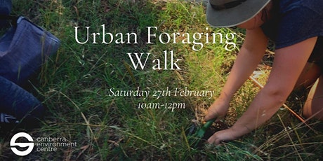 Urban Foraging Walk tickets