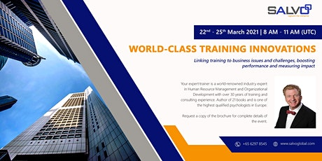 World-class Training Innovations tickets