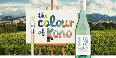 The Colour of Kono  - A Wine & Paint Event Live from New Zealand tickets