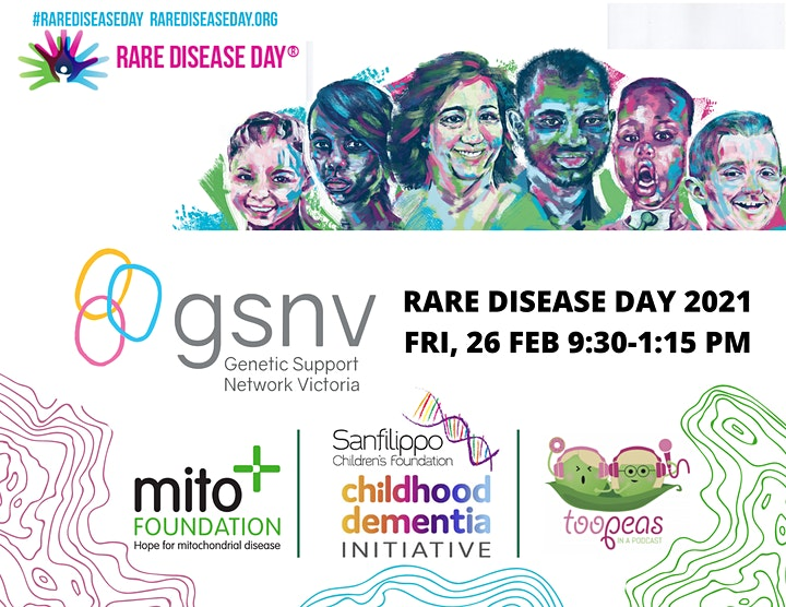 The Genetic Support Network of Victoria Rare Disease Day 2021 image