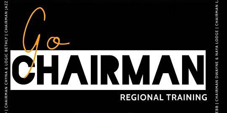 GO CHAIRMAN Regional Training Event - Dallas, TX (Frisco) tickets