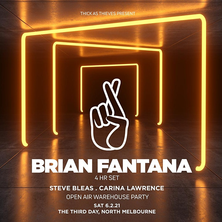 Thick as Thieves feat. BRIAN FANTANA (4 hour set) image