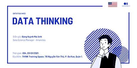 Datatalk #03: DATA THINKING tickets