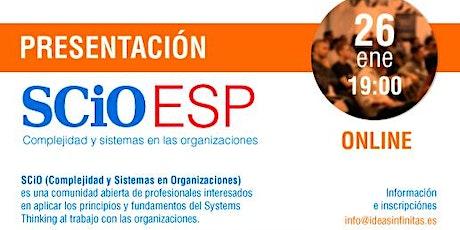 SCiO España. Conversaciones sobre Systems Thinking y problemas complejos entradas