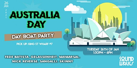 SoundWaves Australia Day Boat Party (DAY) X tickets