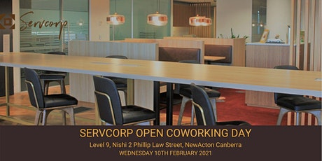 Servcorp Open Coworking Day tickets