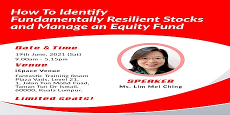 How To Identify Fundamentally Resilient Stocks and Manage an Equity Fund tickets