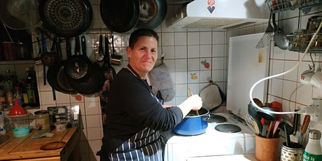 Vegan Cooking Demo - Roasted squash and bean enchiladas with tomato rice tickets