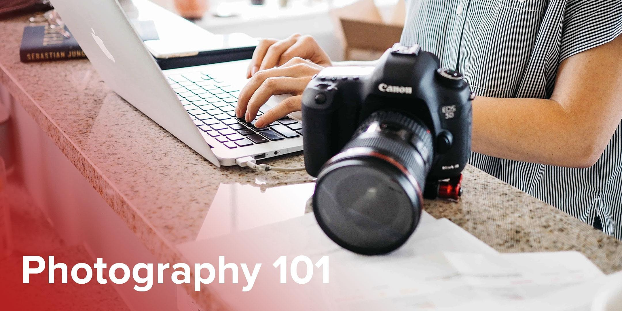 Photography 101 (Online)