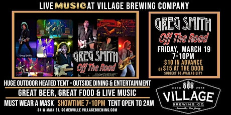Off The Road w/ Greg Smith @Village Brewing Company! tickets