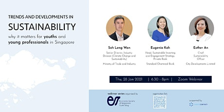 ESS Youth Wing: Trends and Developments in Sustainability tickets