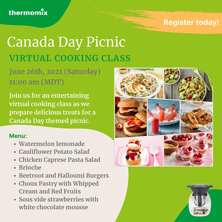 Thermomix®  Virtual Cooking Class: Canada Day Picnic image