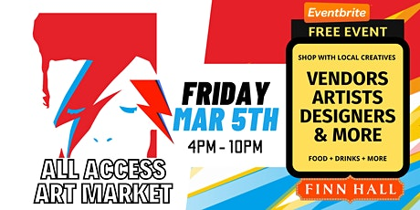 All Access Art Market: Finn Hall Houston (Mar) tickets