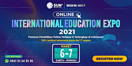 International Education Online Expo 06 - 07 Maret 2021 tickets