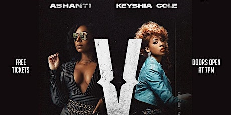 Ashanti and Keyshia Cole Verzuz Viewing Party tickets
