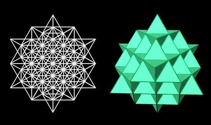 Draw the 64 Star Tetrahedron & Unlock the Secrets of the Universe image