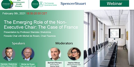 IDN Governance Club France - The Emerging Role of the Non-Executive Chair billets