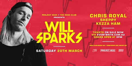 Will Sparks tickets