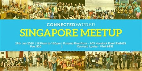 Connected Women Singapore Meetup - January 27 tickets