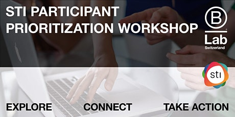 STI Participant - Prioritization-Workshop - EN tickets