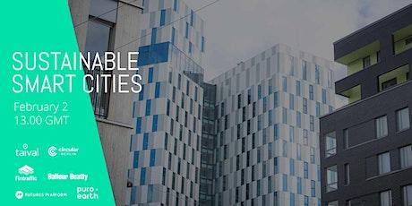 Sustainable Smart Cities Webinar tickets
