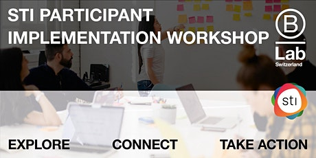 STI Participant - Implementation Workshop - EN tickets