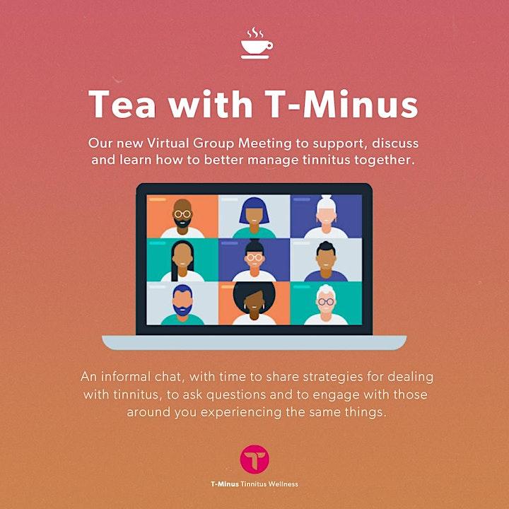 T-Minus - Tinnitus Wellness  - Virtual Tinnitus Support Group - October image