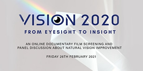 Natural Eyesight Film Screening & Panel Discussion tickets