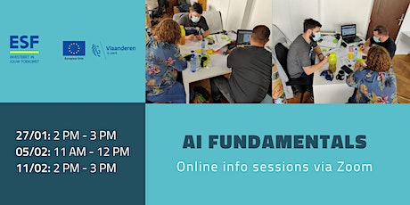 AI fundamentals by BeCode - Infosession tickets