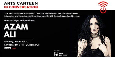 Arts Canteen in Conversation with Azam Ali tickets