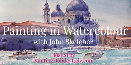 Watercolour Painting Course - an artistic Journey through Italy tickets