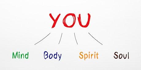Wie Du im Einklang mit Körper und Geist glücklich + gesund durch 2021 gehst Tickets