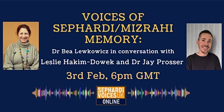 Voices of Sephardi/Mizrahi Memory tickets