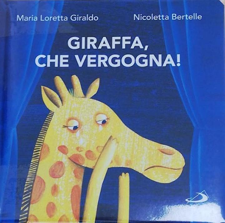 Immagine FIABE A MERENDA - GIRAFFA, CHE VERGOGNA!
