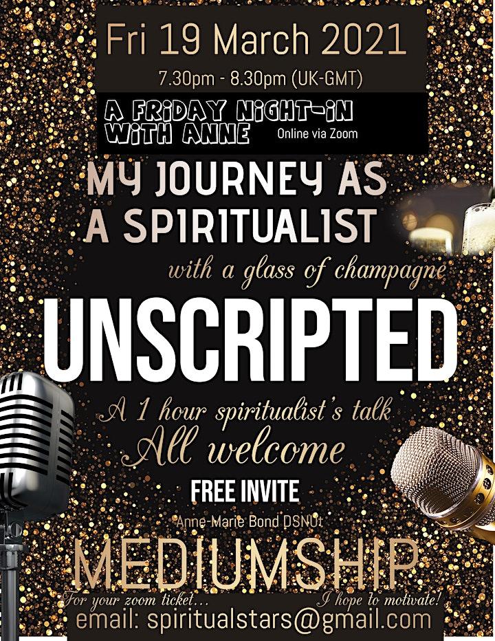 My Spiritualist Talk - A Friday Night In about Mediumship image