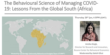 Behavioural Insights &  COVID-19: Lessons From the Global South: Africa tickets