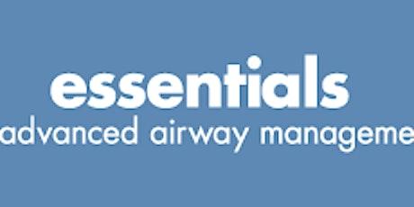 Essentials of Advanced Airway Management (TM) tickets