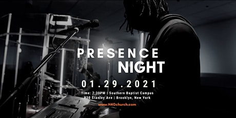 Presence Night - January 2021 tickets