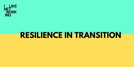 Resilience in Transition tickets