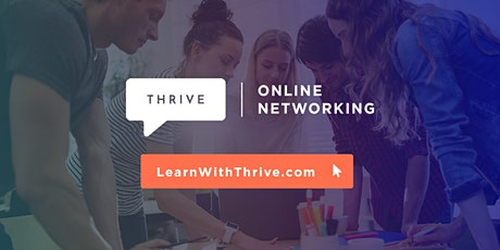 Thrive Online Networking tickets