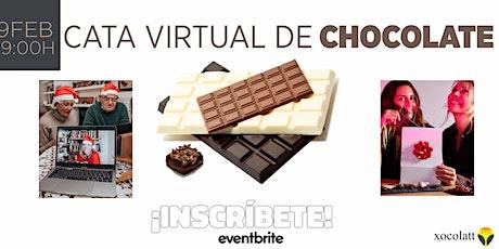 Virtual chocolate tasting boletos